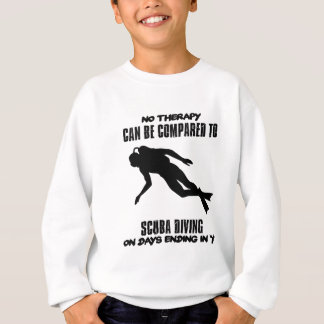 cool and trending scuba diving DESIGNS Sweatshirt