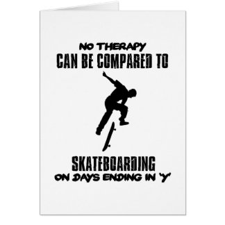 cool and trending skateboarding DESIGNS Card