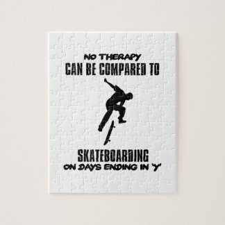 cool and trending skateboarding DESIGNS Puzzles