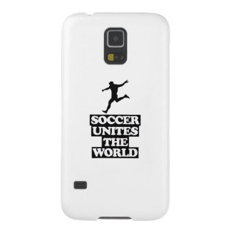 cool and trending soccer DESIGNS Galaxy S5 Cases