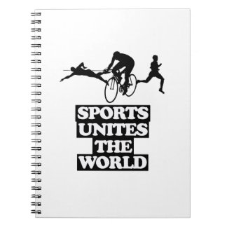 cool and trending Sports DESIGNS Notebooks