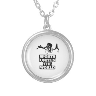 cool and trending Sports DESIGNS Silver Plated Necklace