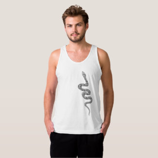 Cool and Trendy Fashion Snake Serpent Tank Top