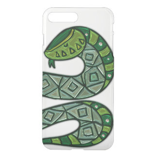 Cool and Trendy Green Fashion Snake Serpent iPhone 8 Plus/7 Plus Case