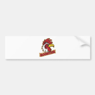 Cool Angry Rooster T-Shirt Bumper Sticker