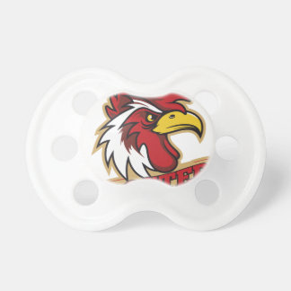 Cool Angry Rooster T-Shirt Pacifiers