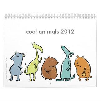 cool animals 2012 (customizable) wall calendar