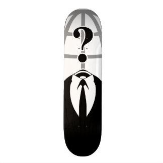 Cool Anonymous Logotype Skate Board Decks