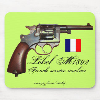 Cool antique Lebel French revolver mousepad