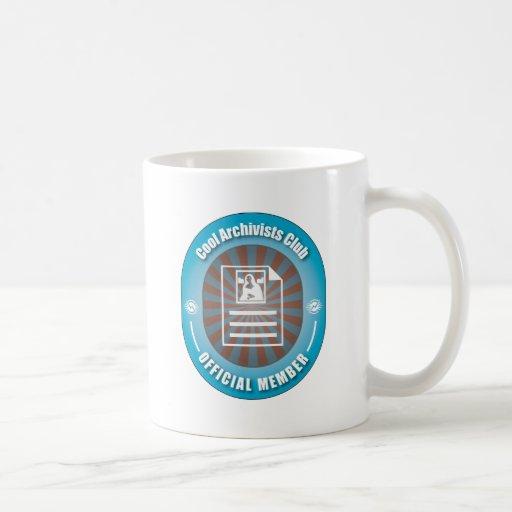 Cool Archivists Club Coffee Mug