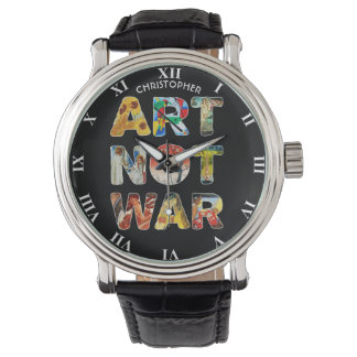 Cool Art Not War Famous Artists For Peace Funny Watch