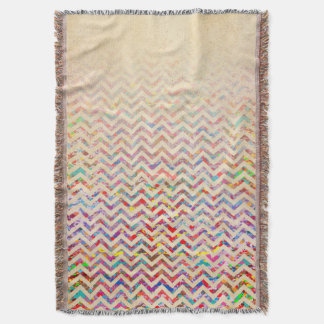 Cool, Artistic, Chevron Pattern Throw Blanket