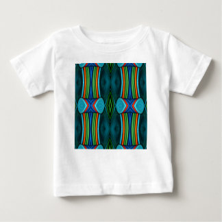Cool Artistic Funky Symmetrical Pattern Baby T-Shirt
