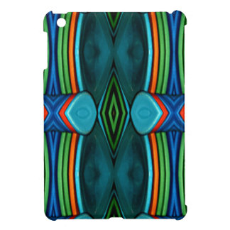 Cool Artistic Funky Symmetrical Pattern Cover For The iPad Mini