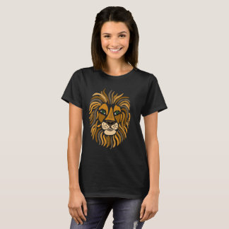 Cool Artistic Lion T-Shirt
