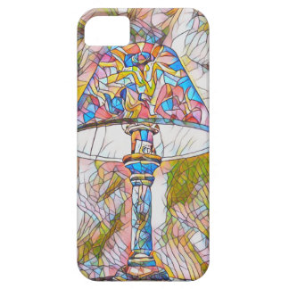 Cool Artistic Stained Glass Lamp Shade iPhone 5 Case