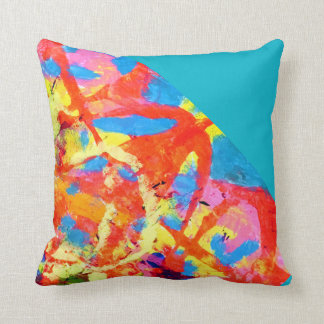 Cool artistic throw pillow