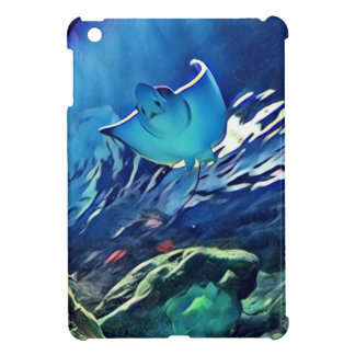 Cool Artistic Underside of Stingray iPad Mini Cover