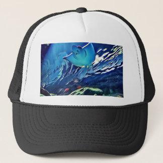 Cool Artistic Underside of Stingray Trucker Hat