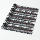 Cool Assassins Creed Abstract Wrapping Paper
