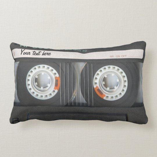 Cool audio cassette Pillow