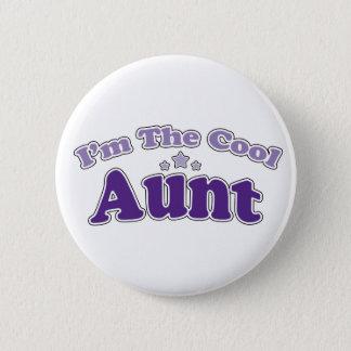 Cool Aunt 2 Inch Round Button
