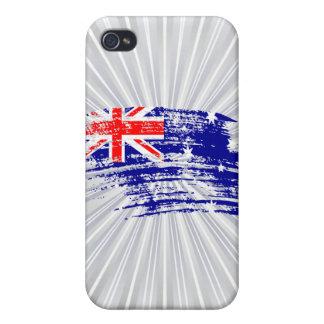 Cool Australian flag design iPhone 4/4S Cases