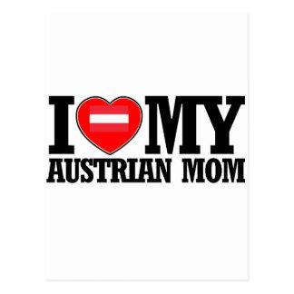 cool Austrian  mom designs Postcard