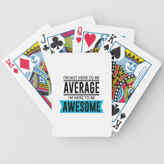 Cool Awesome Fabulous Bicycle Playing Cards