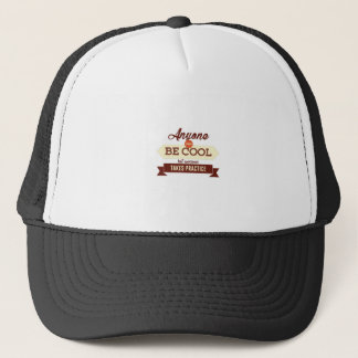 Cool & Awesome Practice Makes Perfect Trucker Hat