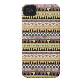 Cool aztec Andes Pattern iPhone 4 Case