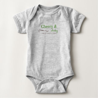 Cool Baby Bodysuit Cheery and Cheeky