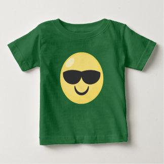 Cool Baby Sunglasses Emoji Baby T-Shirt