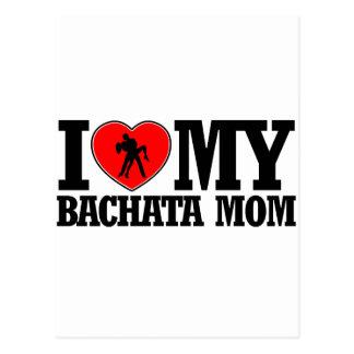cool Bachata  mom designs Postcard