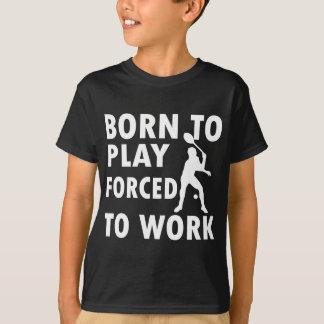 Cool Badminton Designs T-Shirt
