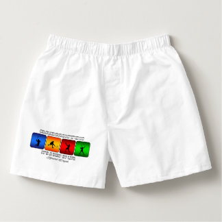 Cool Badminton It Is A Way Of Life Boxers