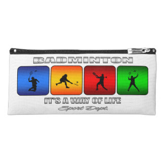Cool Badminton It Is A Way Of Life Pencil Case