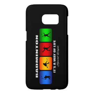 Cool Badminton It Is A Way Of Life Samsung Galaxy S7 Case