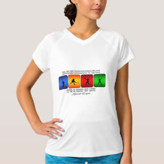 Cool Badminton It Is A Way Of Life T-Shirt