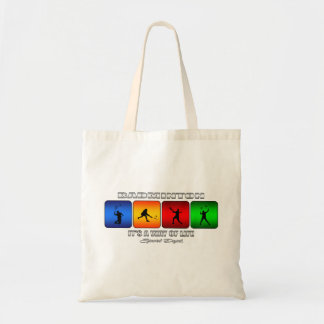 Cool Badminton It Is A Way Of Life Tote Bag