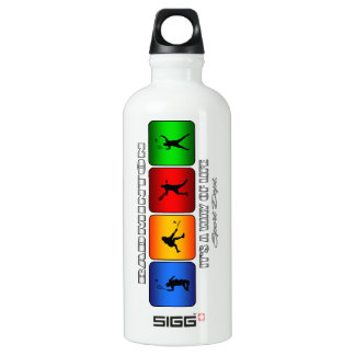 Cool Badminton It Is A Way Of Life Water Bottle