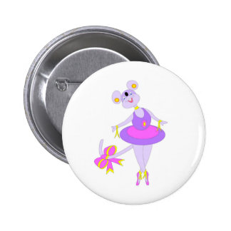Cool Ballet gifs for kids 2 Inch Round Button