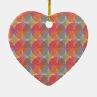Cool Balls Ceramic Heart Ornament