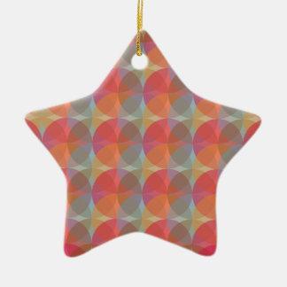 Cool Balls Ceramic Star Ornament