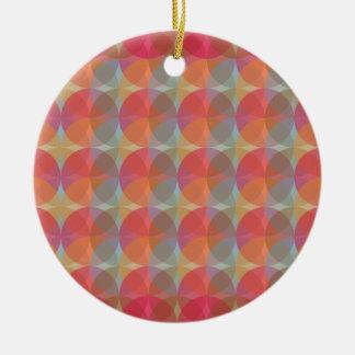 Cool Balls Round Ceramic Ornament