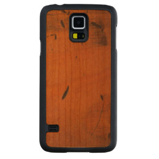 Cool Baltic Pine Wood Carved® Wooden Cherry Galaxy S5 Case