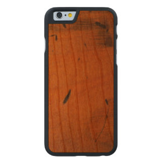 Cool Baltic Pine Wooden Carved® Wood Carved Cherry iPhone 6 Case