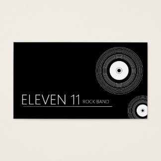 Cool Band Musicians Business Card