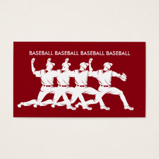 Cool Baseball Business Cards