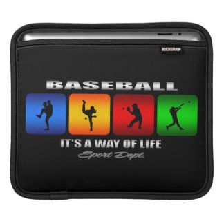Cool Baseball iPad Sleeve